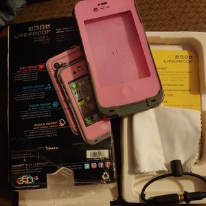 Pink Lifeproof iPhone Case iphone4   4s stocking fa495d6fe